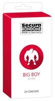 24 stk. Secura - Big Boy Kondomer