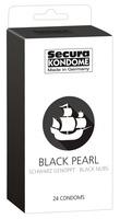 24 stk. Secura - Black Pearl Kondomer