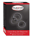 Malesation - Cock Ring Set Beginner 3 stk